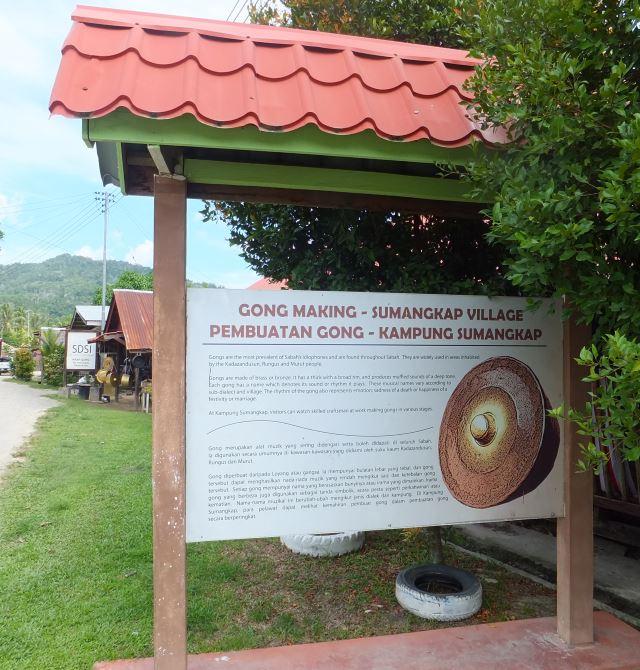 Gong Making Village Kudat