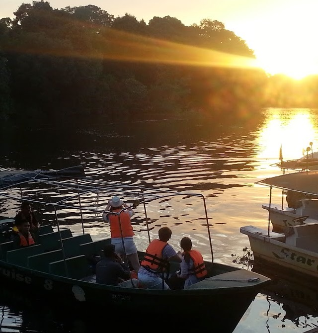 Monkey Top River Safari Sunset Cruise