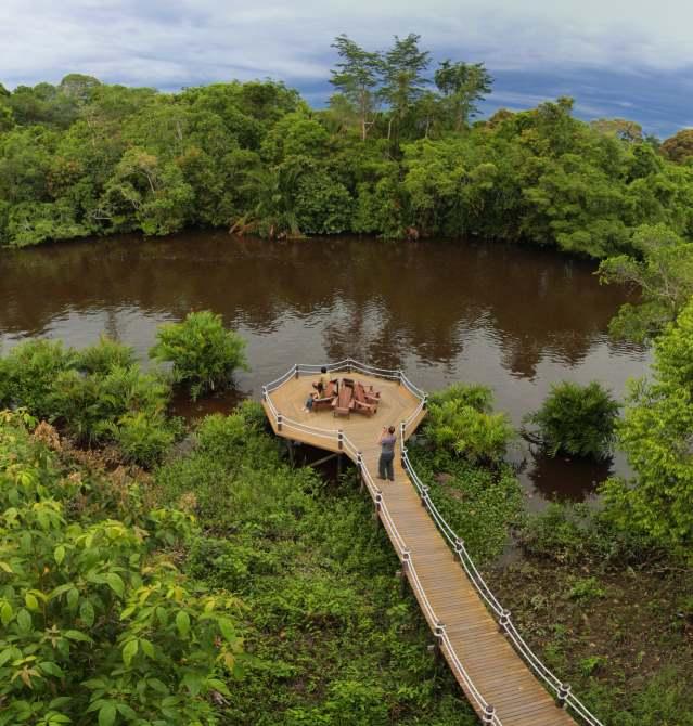 Monkey Tops Safari River Lodge Klias