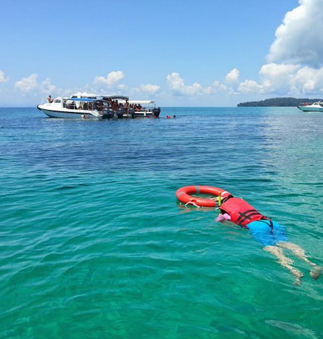Snorkeling in TARP Sabah
