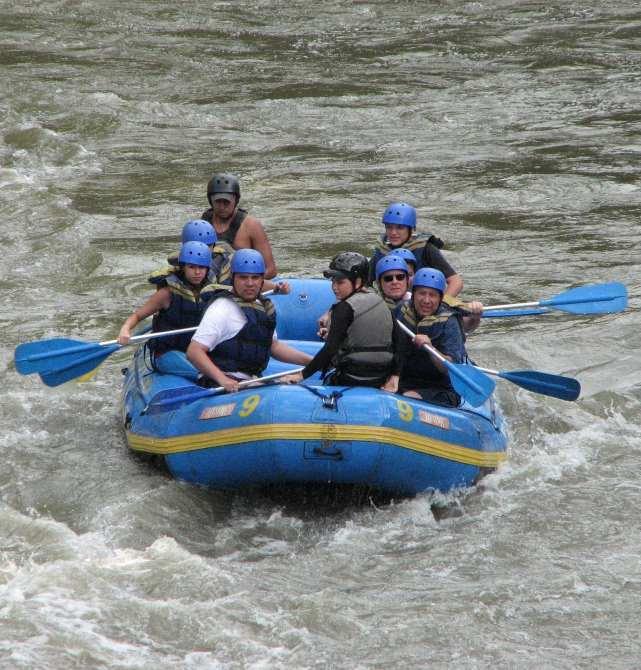 white water rafting Padas Sabah